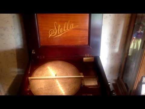 Stella Music Box - c 1897