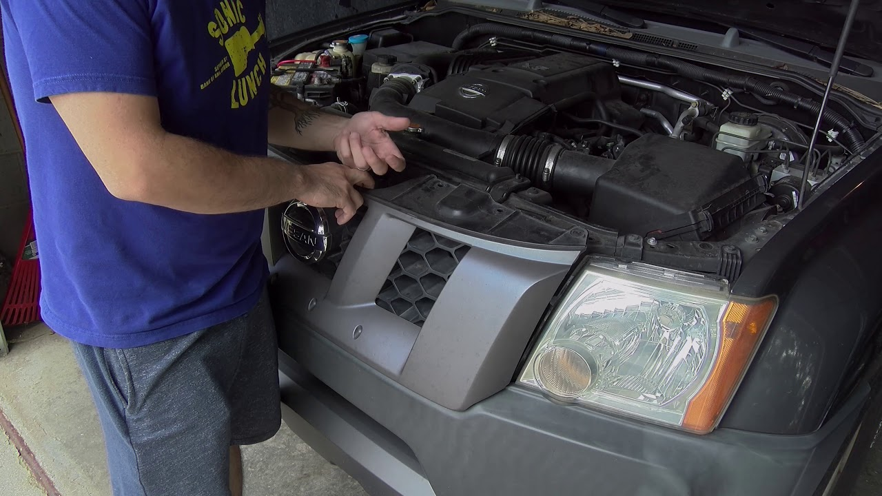 medium resolution of how to remove the front grille from a nissan xterra fast friday