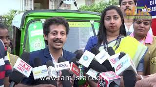 Tuk-Tuk Ride [Eletric Auto] - Namba Chennai Flag- Off Ceremony