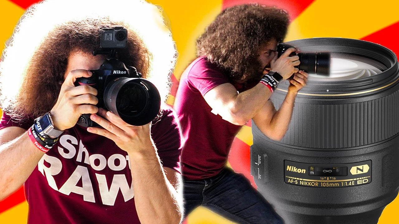 Nikon 105mm F1 4 Real World Review: The BEST Sharpest