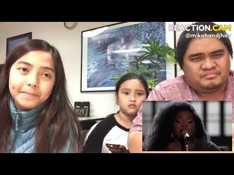 """Family Reacts to Kymberli Joye sings """"Break Every Chain"""" - The Voice 2018 Live Top 11 Performances Mp3"""