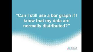 Data visualization for statistical interpretation. -Dr. Tracey Weissgerber