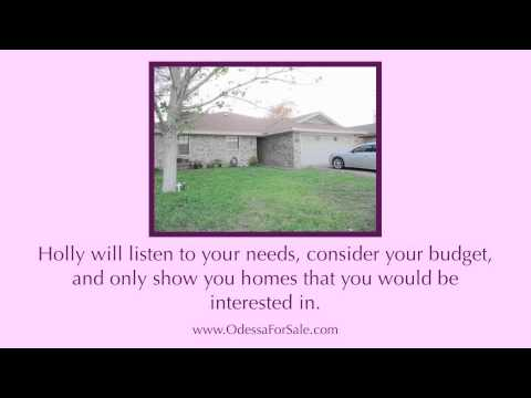 Hiring a Real Estate Agent in Odessa Texas - Odessa Texas Real Estate Agent  - Holly Sorrells