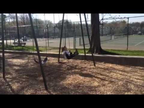 Big sis swings
