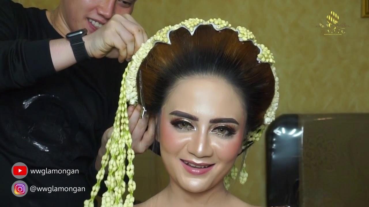 Tutorial sanggul Sunda singer pake sumpelan