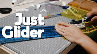 1m 발사글라이더 만들기_파트 2_샌딩후, 커버링 | …