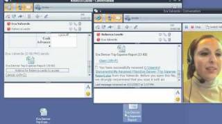 Use Office Communicator 2007 to collaborate with colleagues Part 3