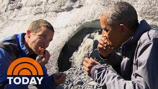 Man vs wild in Hindi -  Bear grylls and obama Man vs wild Adventure