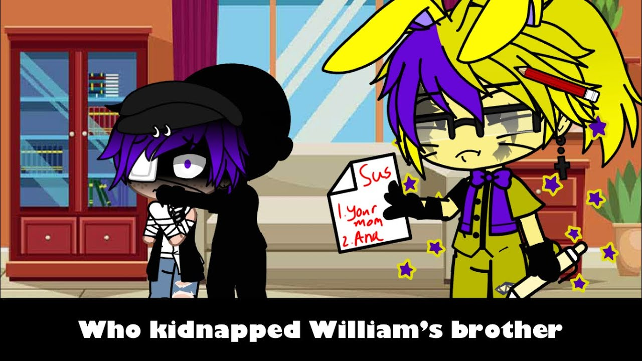 Download Who kidnapped William Afton's brother//Detective Glitchtrap//FNAF// My AU