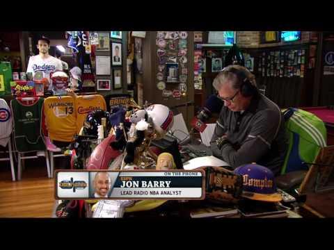 Jon Barry on The Dan Patrick Show (Full Interview)