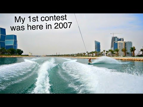 Wakeboarding in Qatar -11 years later!