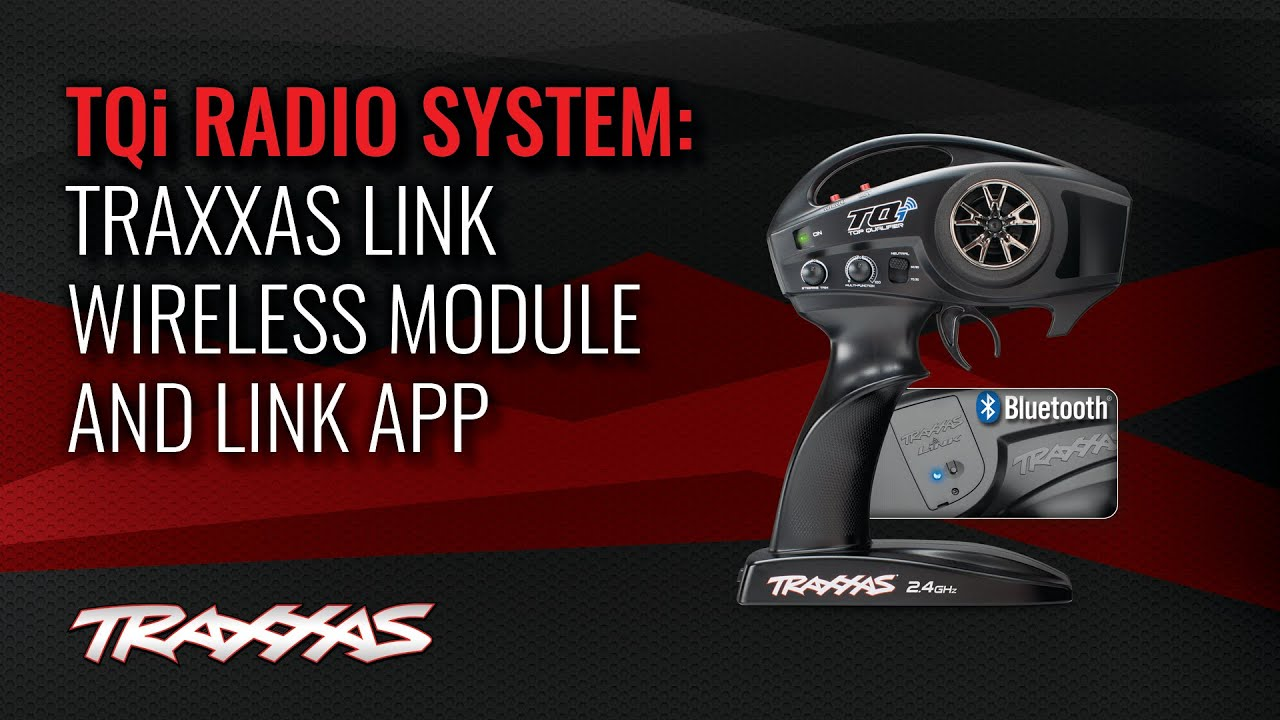 Traxxas TQi Radio System with Traxxas Link Wireless Module