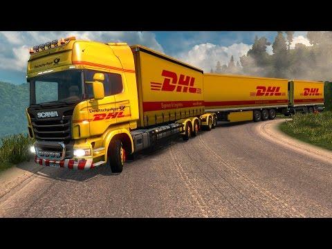 ETS2 Tren de Carretera con triple remolque! Puno Perú - Scania Gigaliner Euro Truck Simulator 2