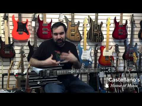 Schecter Synyster Model Custom-S & Standard Comparison