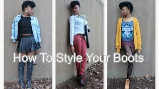How to Style Your Boots Thumbnail