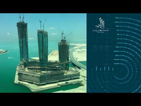 Villamar @ The Harbor Bahrain Construction Update