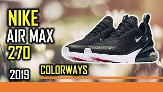 new product a9c62 983c2 Colorways Nike Air Max 270 Men s Running Shoes ...