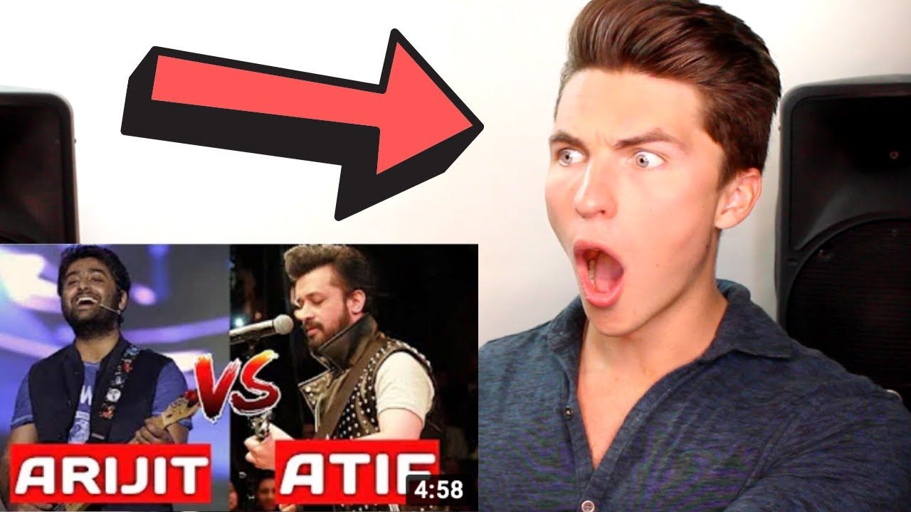 VOCAL COACH Reacts to Arijit Singh Vs Atif Aslam - REAL VOICE WITHOUT AUTOTUNE