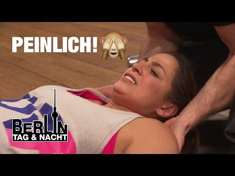 Berlin - Tag & Nacht - Peinlich! Alessia bekommt Krampf im Po #1441 - RTL II