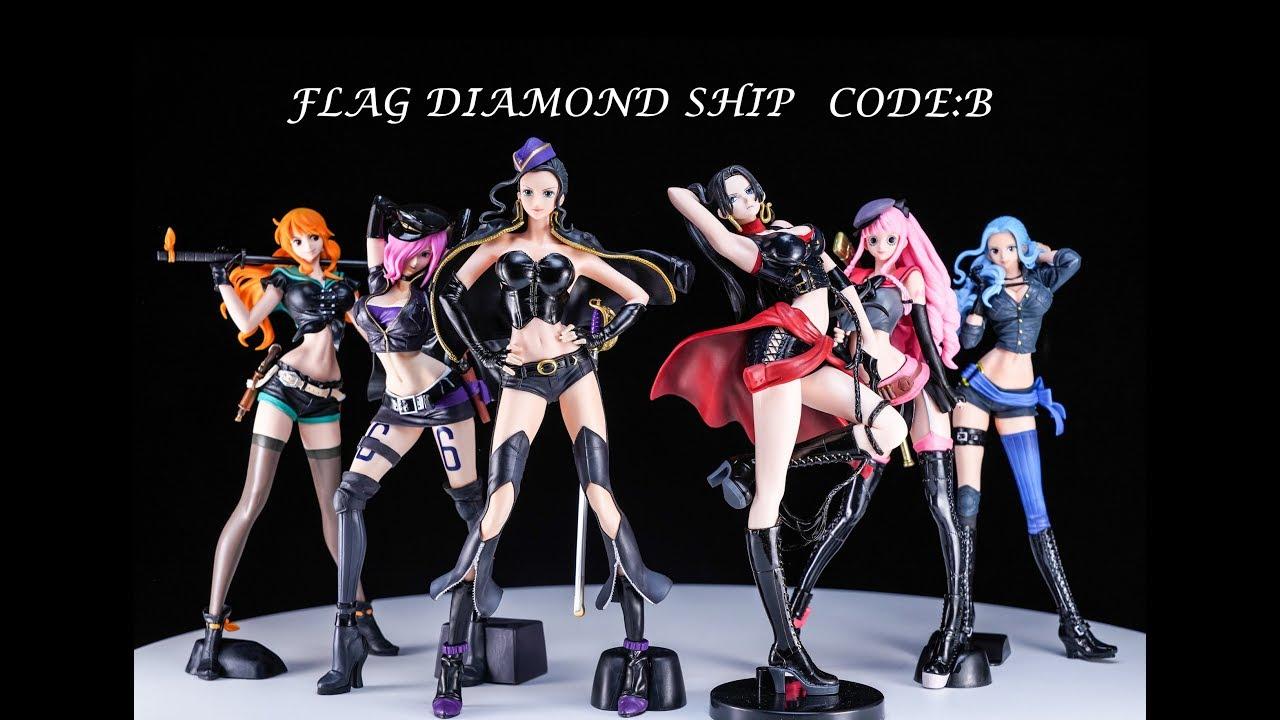 Nami Flag Diamond Ship Code B Banpresto One Piece
