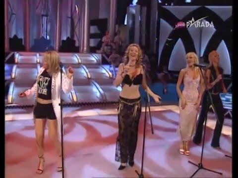 Leontina, Lepa Brena, Tijana, Romana, Jelena - Splet - Grand Show - (TV Pink 2003)