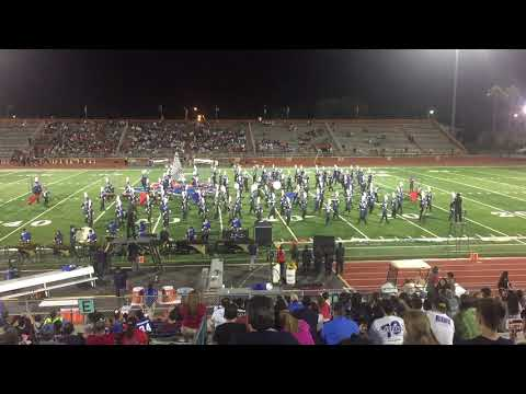 Veterans Memorial ECHS 2018 Marching Band Dystopia