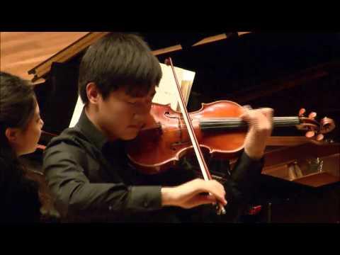 Zeyu Victor Li -- Menuhin Competition  -- Senior Semi-Finals