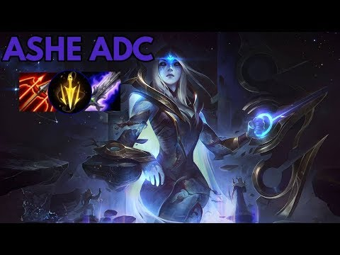 Cosmic Queen Ashe-League of Legends Full Gameplay