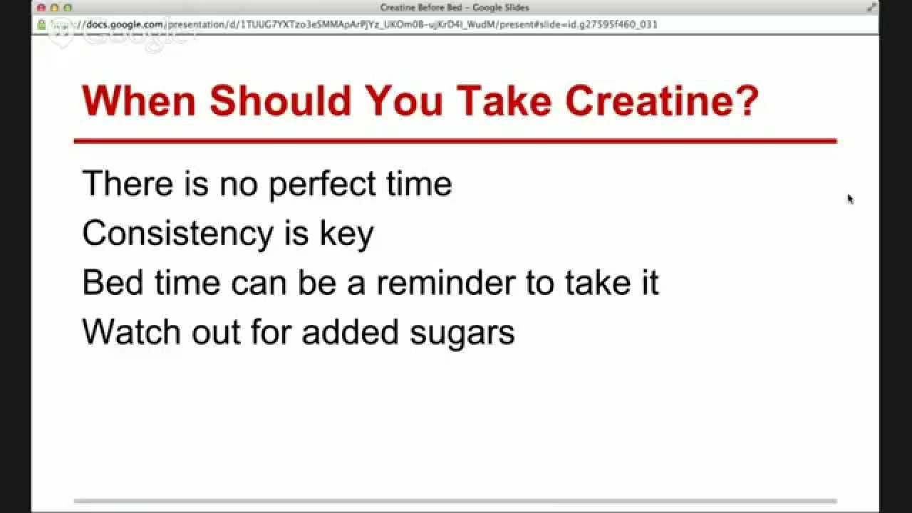 how to properly stop taking creatine
