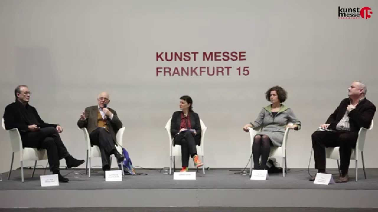 kunst messe frankfurt 15 podiumsdiskussion von der akademie auf den markt youtube. Black Bedroom Furniture Sets. Home Design Ideas