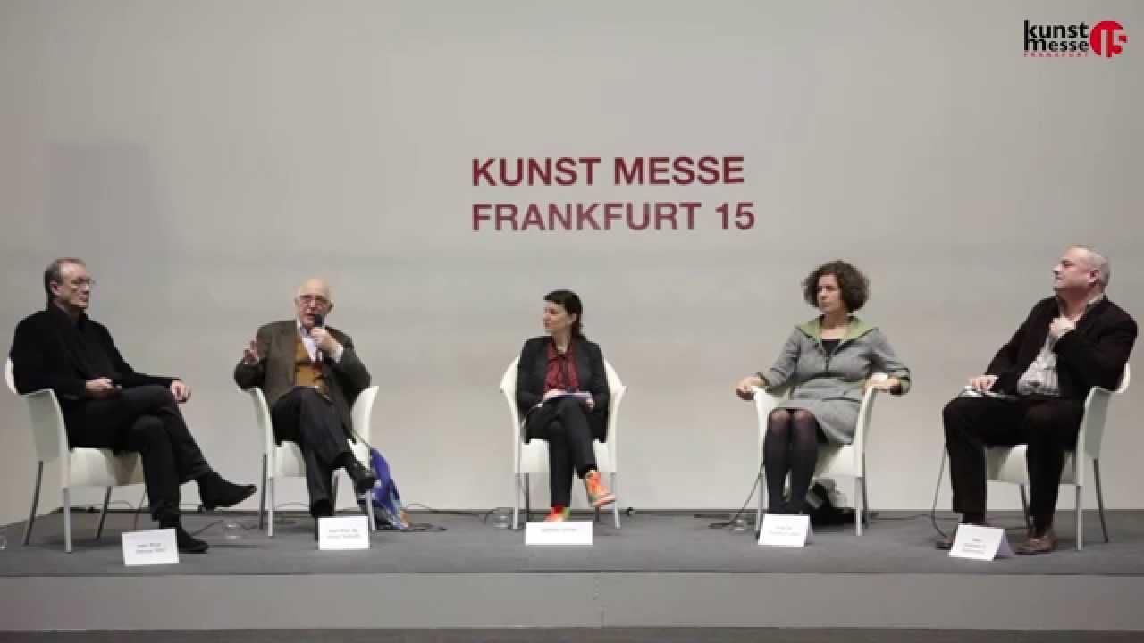 kunst messe frankfurt 15 podiumsdiskussion von der akademie auf den markt youtube. Black Bedroom Furniture Sets. Home Design Ideas