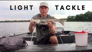 Light Tackle Fishing For ROCKFISH