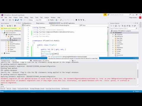 Introducción a Entity Framework Code First   Modelos   Programando en ASP.NET MVC 5