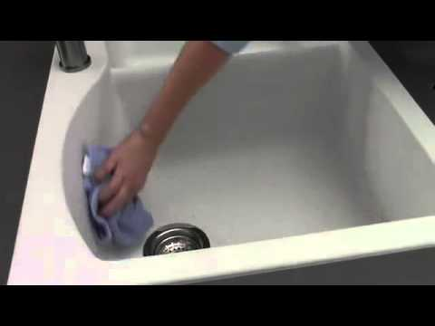 How to Clean your BLANCO SILGRANIT Sink - XAMMAX - YouTube
