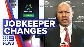 Coronavirus: Changes to JobKeeper amid Victoria crisis   9 News Australia