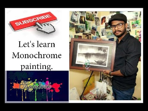 LEARN MONOCHROME PAINTING IN EASY STEPS