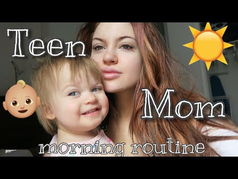 TEEN MOM MORNING ROUTINE :NEW YORK EDITION
