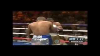 Juan Manuel Lopez vs Orlando Salido - RND 8 TKO