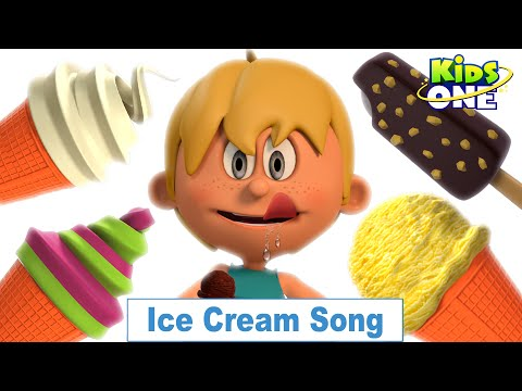 Ice Cream Song | Nursery Rhymes and Songs For Children - KidsOne