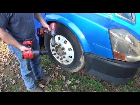 "Milwaukee Fuel 1/2"" 2767 Impact VS 3/4"" 2864 Impact Real world use and testing on Semi trucks"