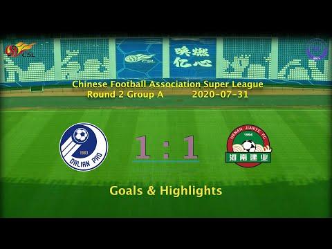 [CSL] 20200731 Round 2 Group A Dalian Professional 1-1 Henan Jianye