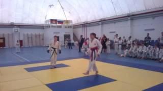 Первое место в открытом Кубке Отрадненского района по каратэ WKC