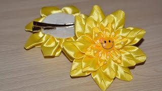 Бантики для волос Солнечная улыбка/Bows for hair Sun smile