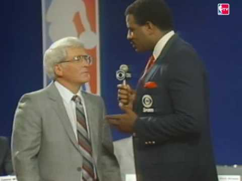 Spurs win the 1987 Draft Lottery