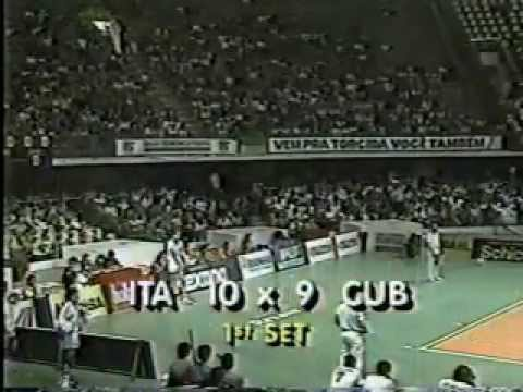 1990 WCH Volleyball Men`s Final Italy vs Cuba