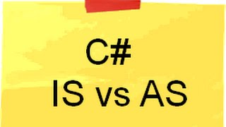 IS vs AS Keyword ( C# Interview questions with answers)