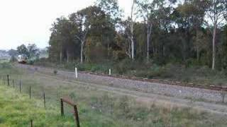 621/721 at speed between Oakhampton & Telarah, NSW