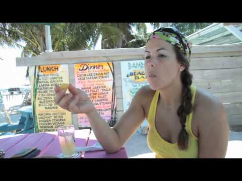 Caye Caulker, Belize. 6min tour