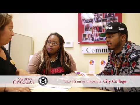 Take summer classes at City College
