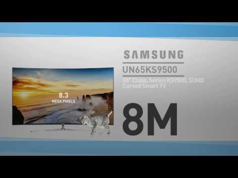 SAMSUNG UN65KS9500 ( KS9500 ) Curved 4K SUHD Smart TV #SamsungTV